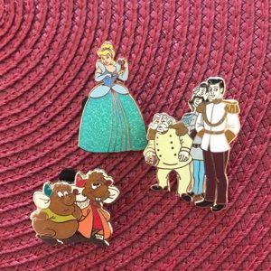 Disney Cinderella Pins
